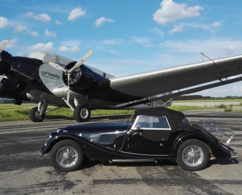 Ju 52 und Morgan 4/4